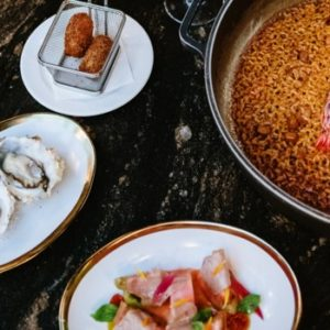 SINTONIA-Menu gastronomico